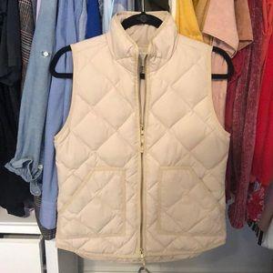 J Crew Tan Vest